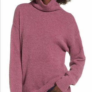 BP Nordstrom boucle sweater tunic